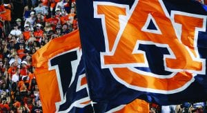 Auburn Logo on Flags