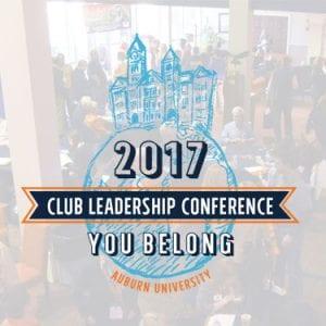 Auburn Clubs CLC 2017, You Belong Logo