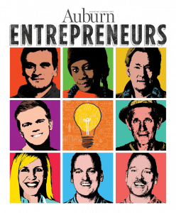 Auburn Magazine Spring 2017 Issue Cover on Entrepreneurs