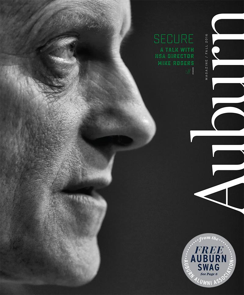 Auburn Magazine 2016 Fall Issue Cover