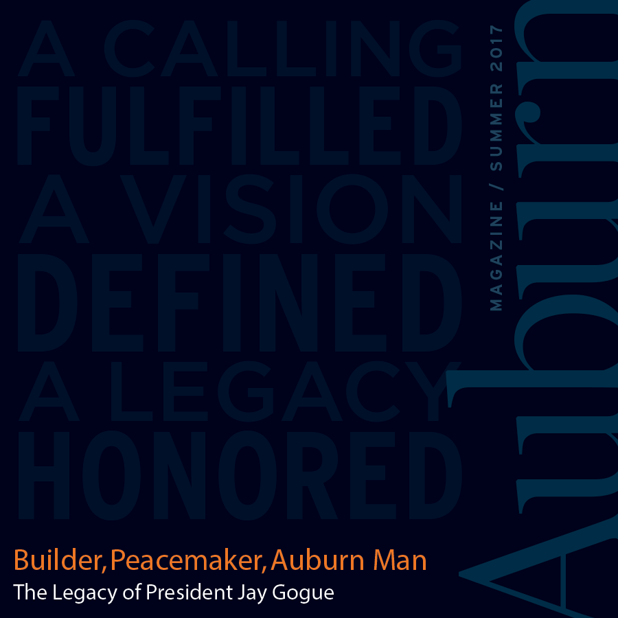 Auburn Magazine Summer 2017 Square Cover