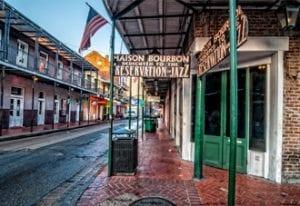 Maison Bourbon Jazz Club on Bourbon Street in New Orleans