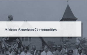 African American Communities Button