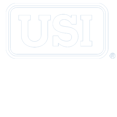 USI Travel Logo White