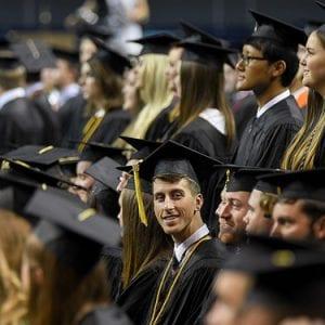 Young Alumni at Graduation