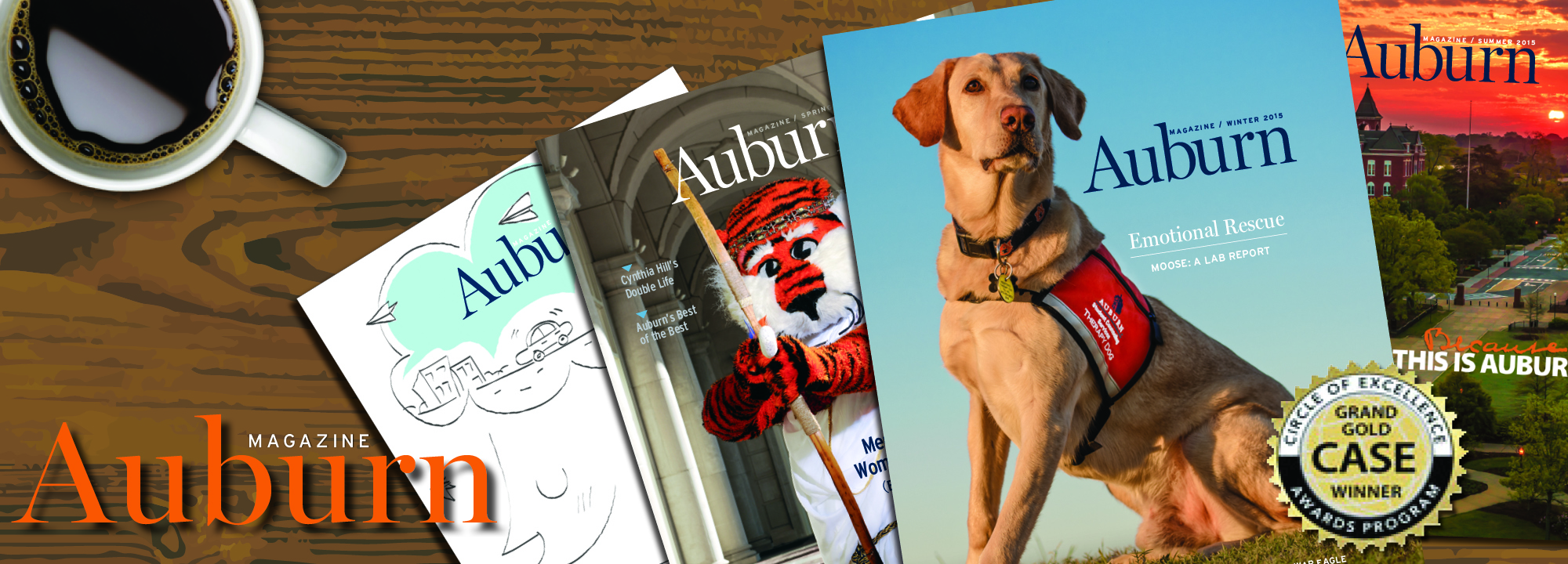Auburn Magazine One of top 5 College and University Magazines