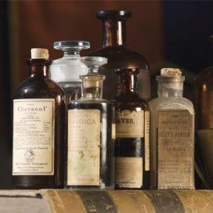 Bottles of Medicinal Liquids