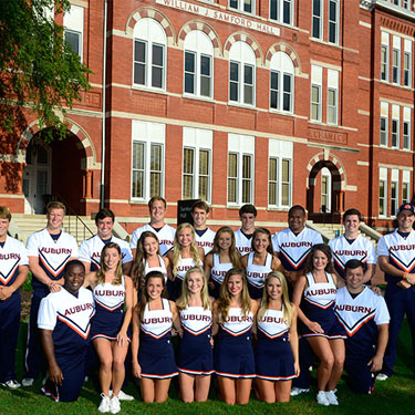 Auburn Cheerleaders
