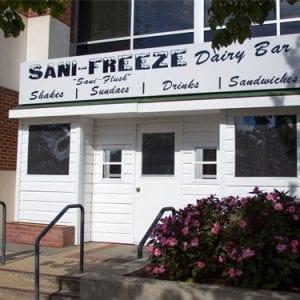 Sani Freeze Stand