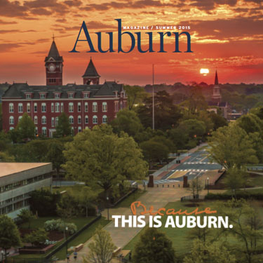 Auburn Magazine Fall 2015 Feature