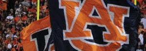 Auburn Logo Flag