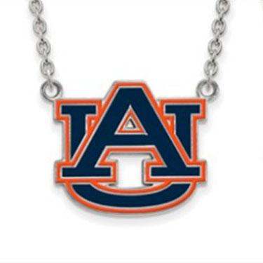 Auburn Logo Necklace