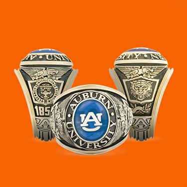 Auburn Class Rings