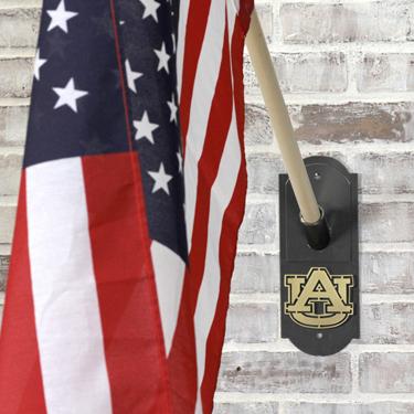 Auburn Logo Flag Holder
