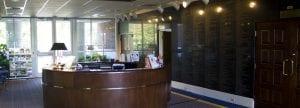 Auburn Alumni Reception Desk