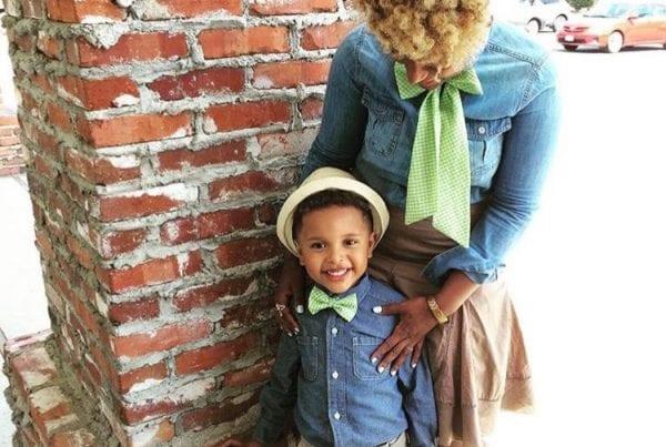 Drew Tipton and son