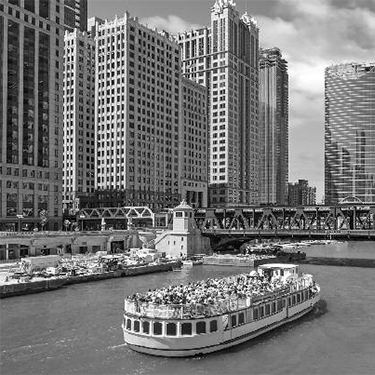 Chicago - River boat