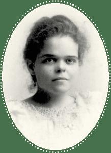 A vintage photo of Katherine Brown
