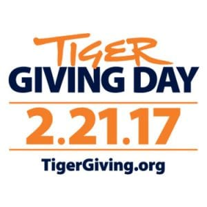Tiger Giving Day logo for 2-21-17