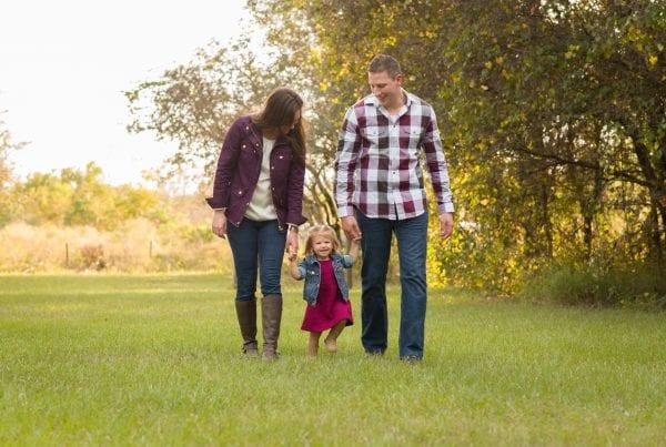 Erica Augello and family