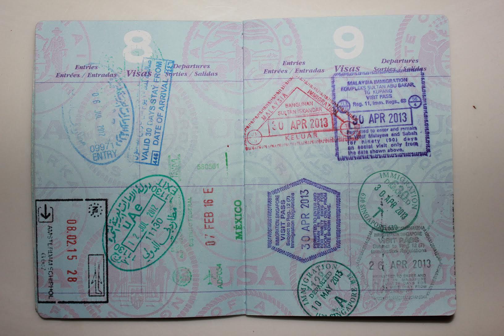 Meredith MacLean's Passport - Exploring the World