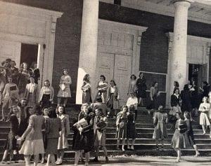 Girls by Langdon 1943