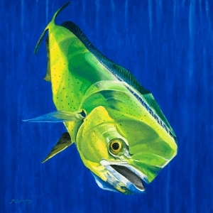 A piece for her Florida sea life painted series.