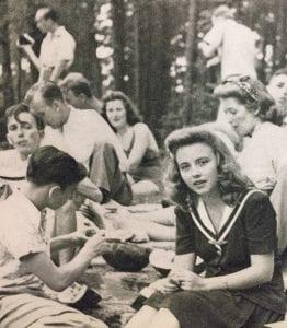 Students at play, 1943