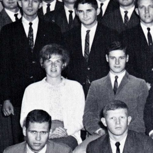 Nelda Lee '69, the only woman in Aeronautical Engineering