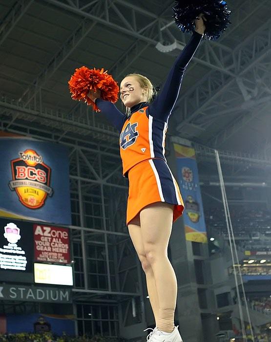 Benton Sprayberry Cybulsky, former Auburn cheerleader.