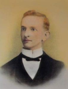 Wedding Portrait of George Clark