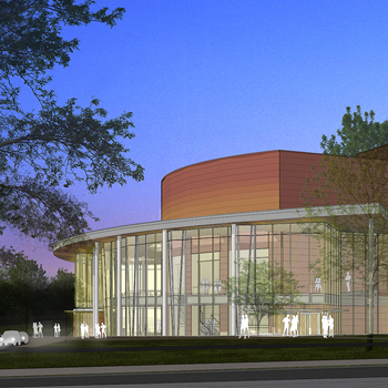 PreformingArtsCenter 3D Rendering