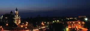 photo of samford overhead