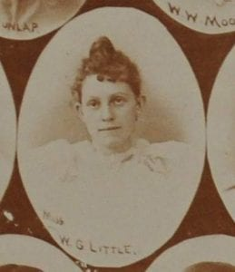 Yearbook photo of Willie Little