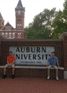 class day by auburn sign