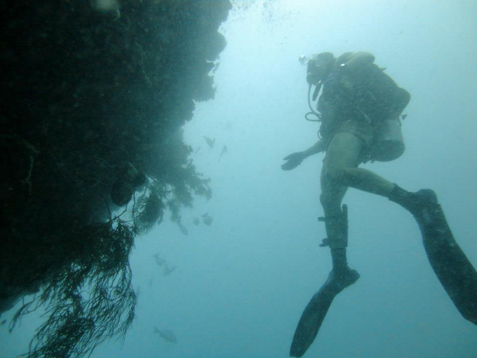 Glennon Naval Diving at a reef