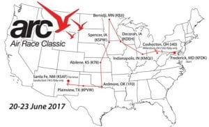 Air Race Classic Map