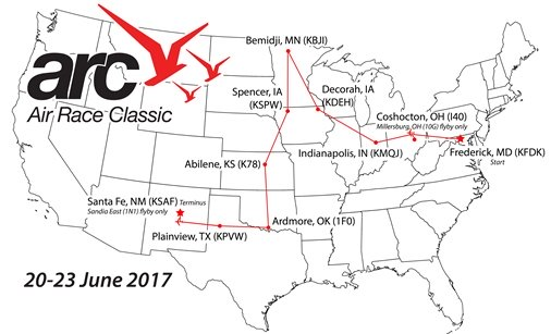 Air Race Classic Map