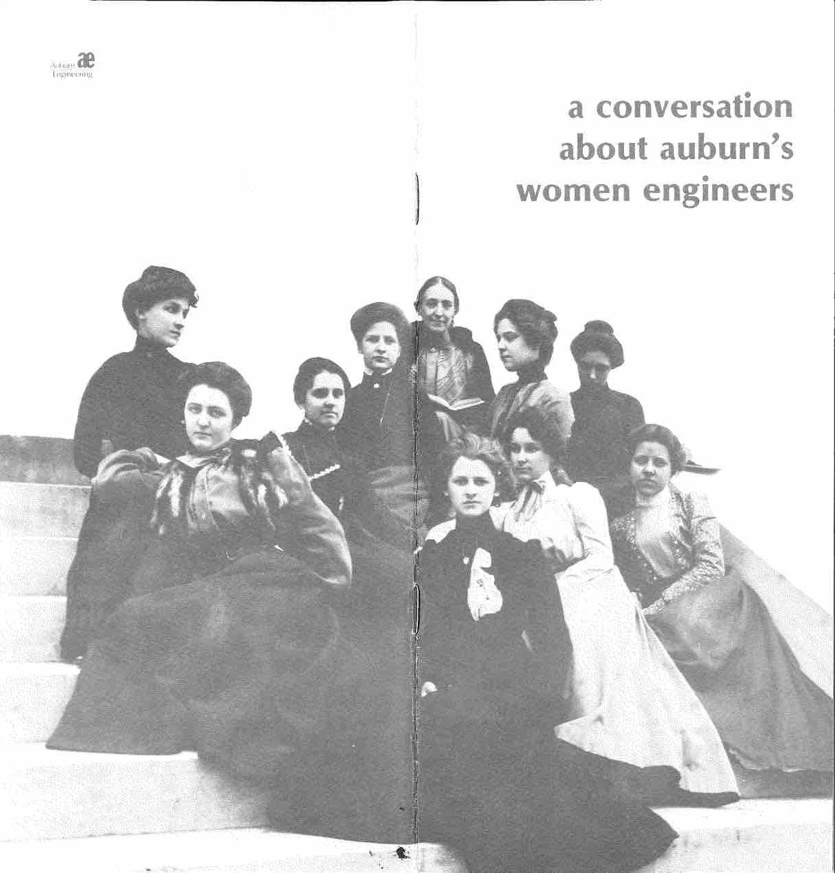 Photo of original woman engineers