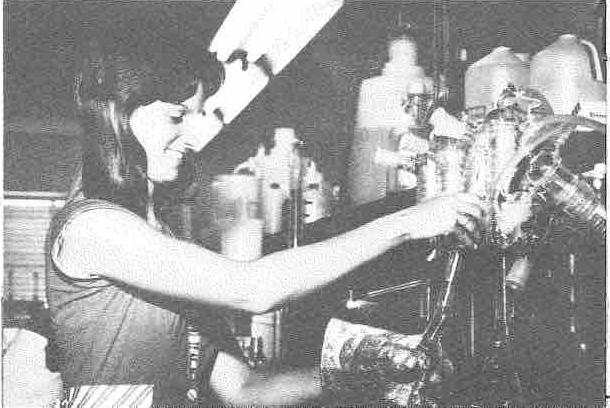 Olivia Owen testing for engineering