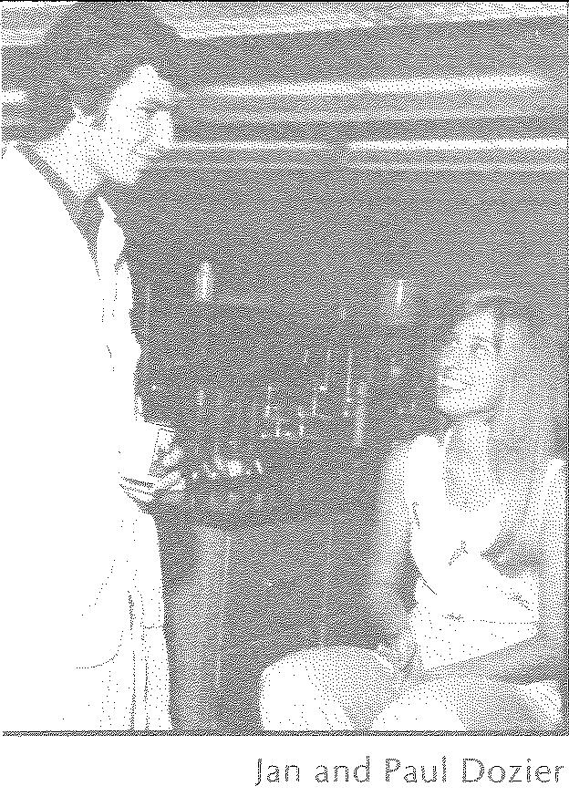 Jan Dozier being interviewed