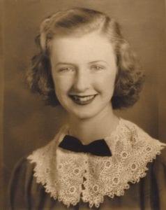 Peggy Bodden teenager