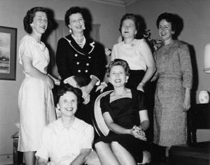 Peggy Bodden and the gals