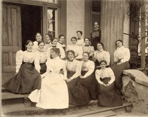 1898 Coeds of A&M College