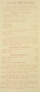 1969 Class Privileges