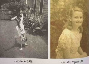 Harvilee in 1939 9 years old.