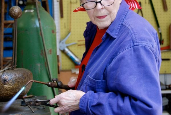 Jean Woodham present