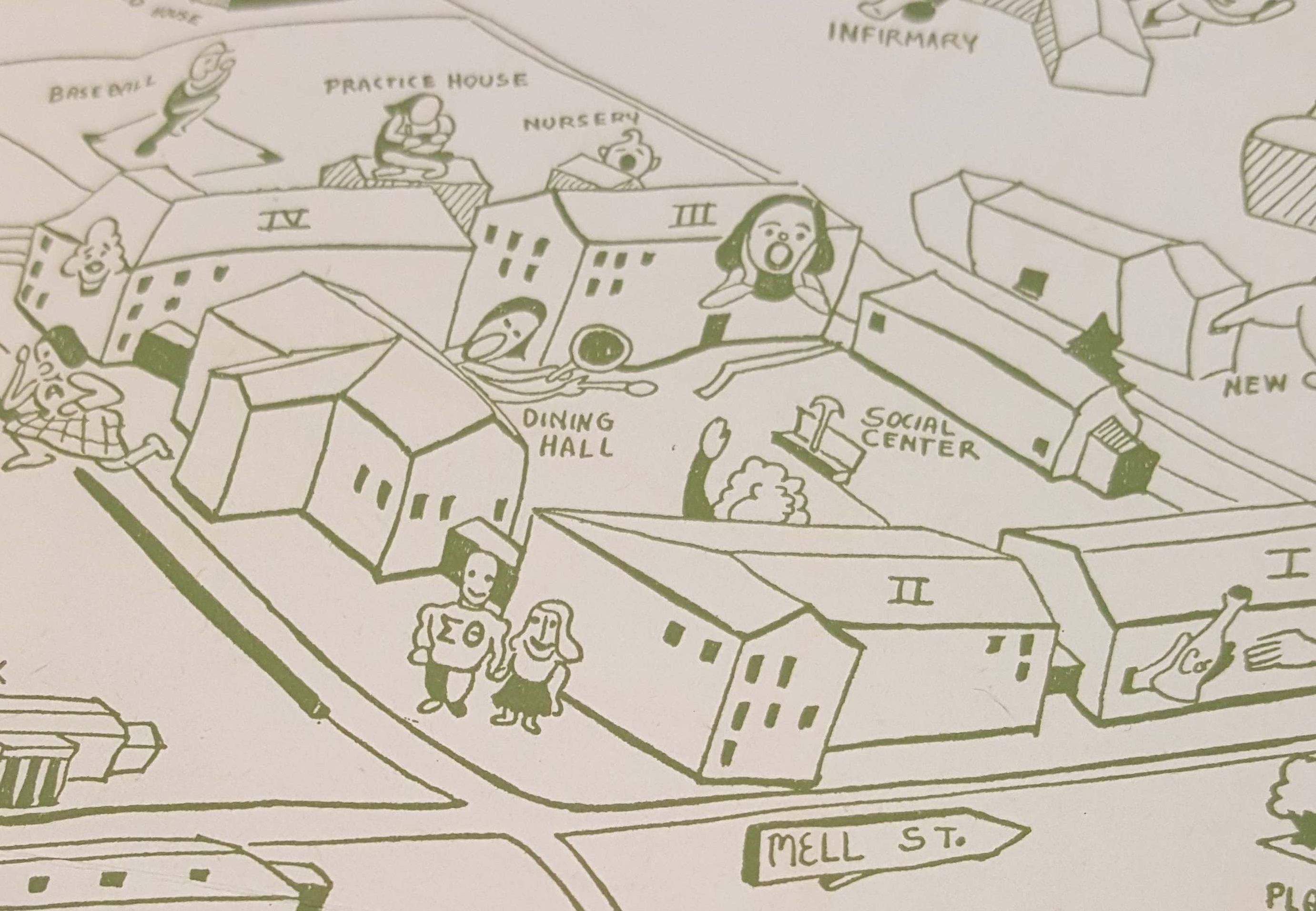 The Quadrangle 1945