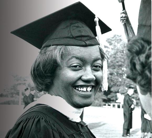 1966 Josetta Brittain Matthews first black graduate