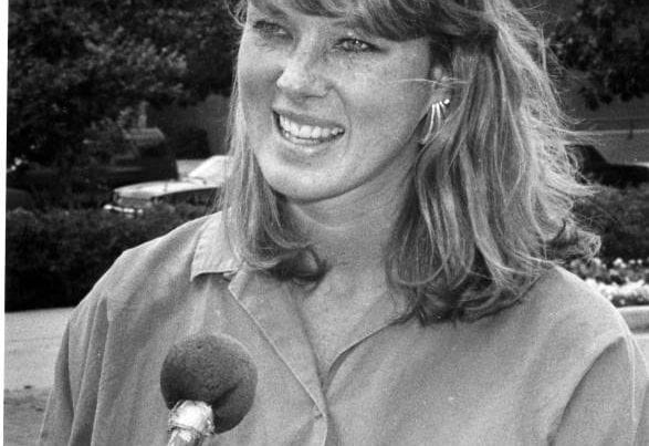 1988 Cindy Holland first female SGA president